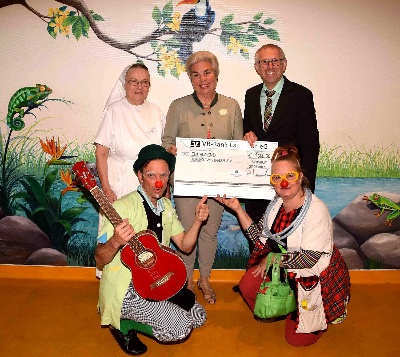 Kastulus-Bader-Stiftung zaubert ein Lächeln