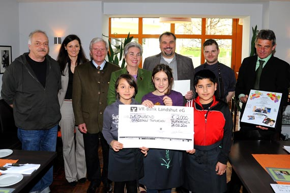 Kastulus-Bader-Stiftung fördert Projekte der Ganztagesklassen an der Grundschule Taufkirchen