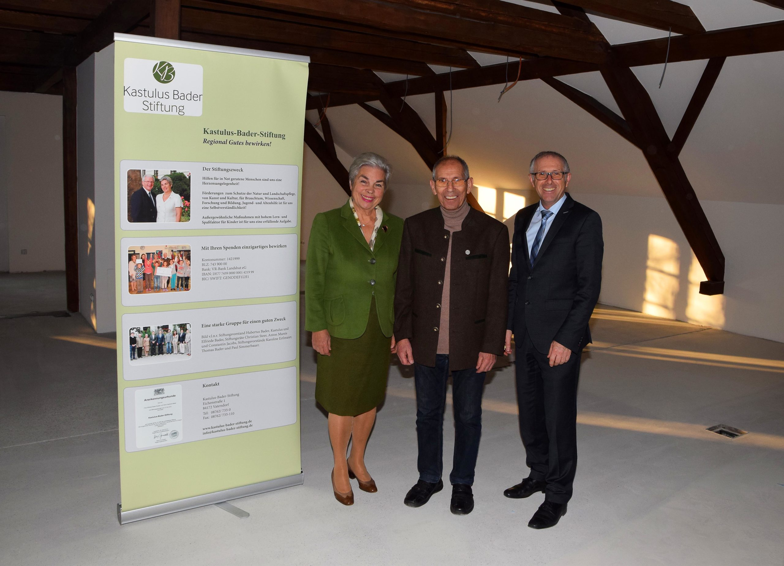 Hans Schneider in Stiftungsrat berufen