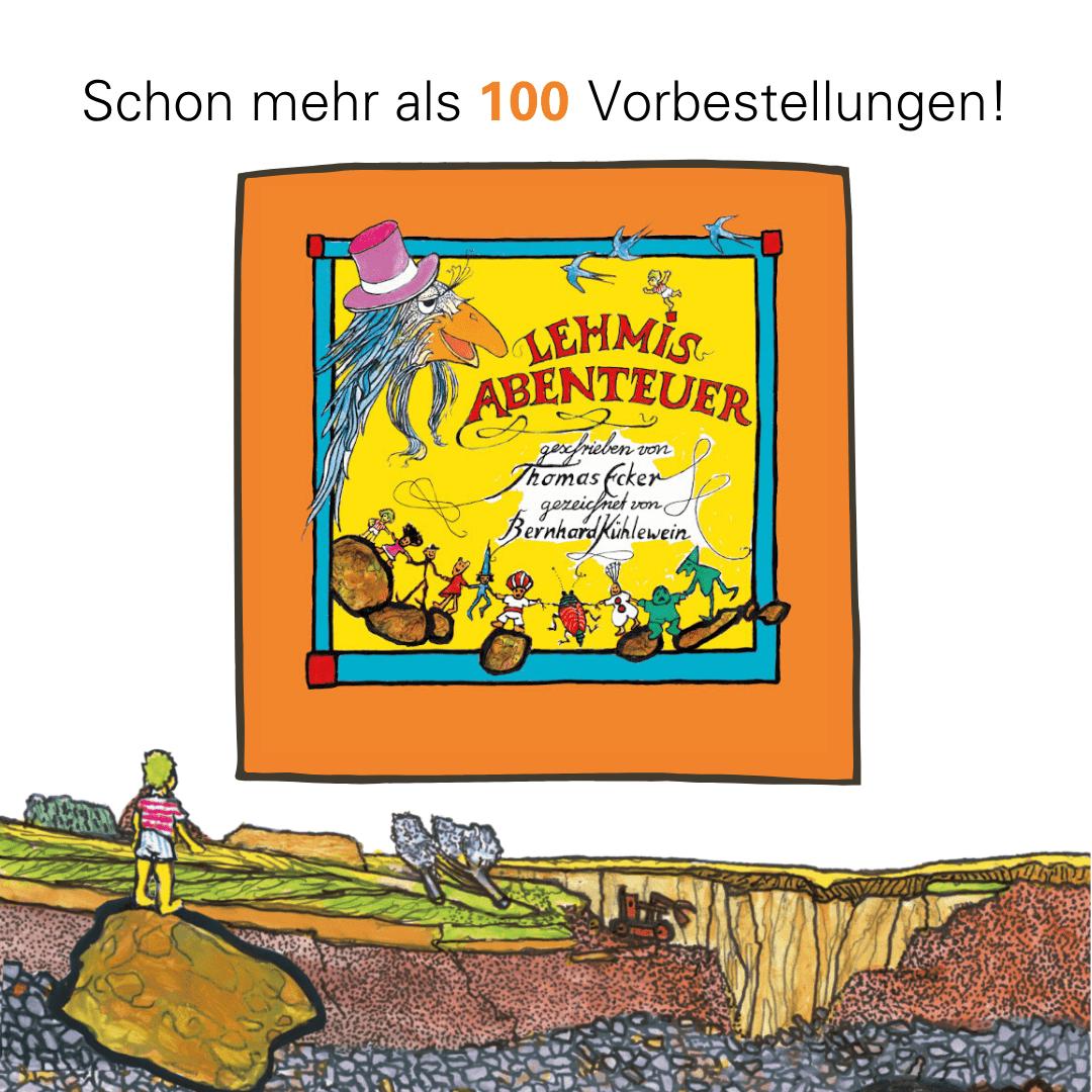 Lehmis Abenteuer – ab 11. November endlich im Buchhandel